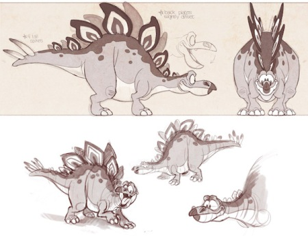 concept art for Prehistoric Party