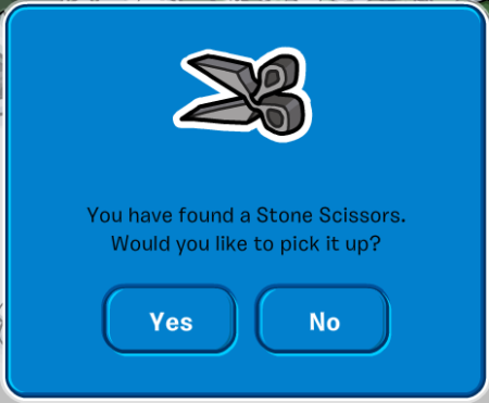 Stone Scissors pop up